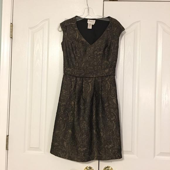Dresses & Skirts   Vintage Olive Green Cocktail Dress   Poshmark